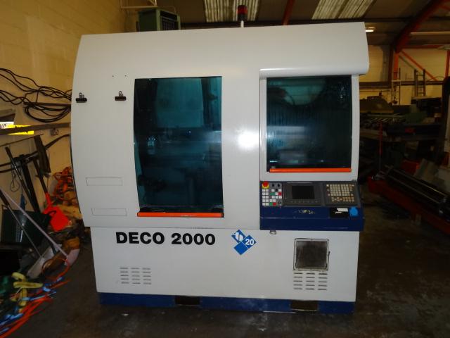 Ottomatics Machine Detail Tornos 1999 Deco 2000 20 Cnc
