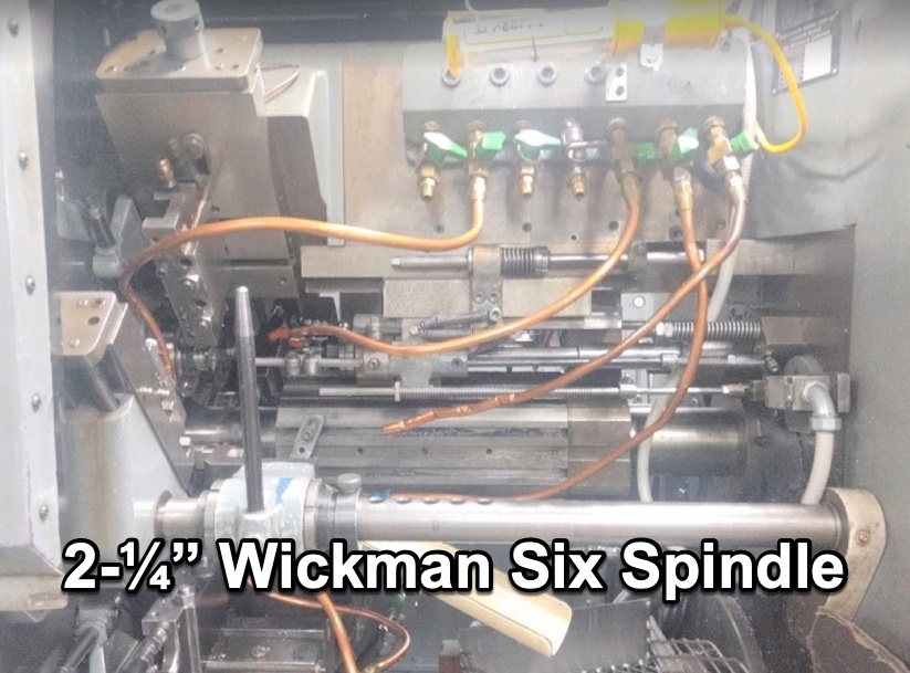 Wickman 6 Spindle   1976