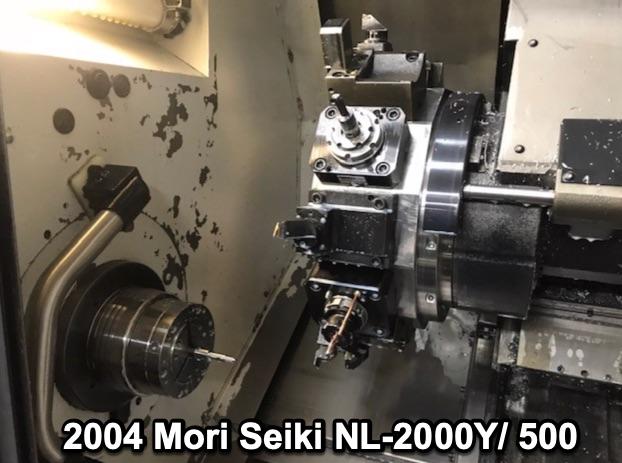 Manufacturer: Mori-Seiki, Type: CNC Machine, Mori-Seiki CL