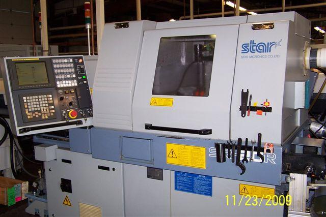 Star 2002 Sr 20 R Cnc Swiss Lathe Cnc 20mm Live Tooling
