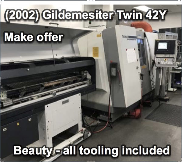 Recently Sold Machines