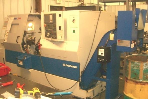 Daewoo Doosan 2004 240 B Cnc Machine Lathe Cnc 3 Quot Tail